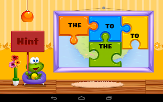Screenshot of Kids Reading Sight Words Lite