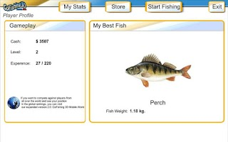 Screenshot of GoFishing3d
