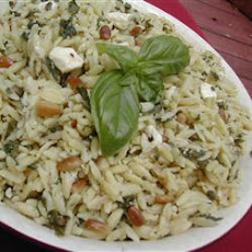 Mediterranean Feta And Orzo Salad