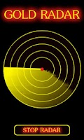 Screenshot of Gold Radar Scanner Prank
