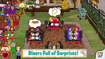 Screenshot of Diner Dash Classic Deluxe