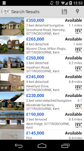 Buckey & Ward Estate Agents - screenshot