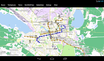Screenshot of Yekaterinburg Public Transport
