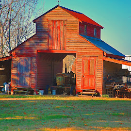 Cajun barn by Ron Olivier - Buildings & Architecture Other Exteriors ( cajun barn )