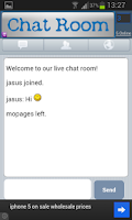 Screenshot of Free Chat Room