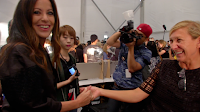 Behind the Scenes:  Backstage at the Jill Stuart Spring 2014 Runway Show