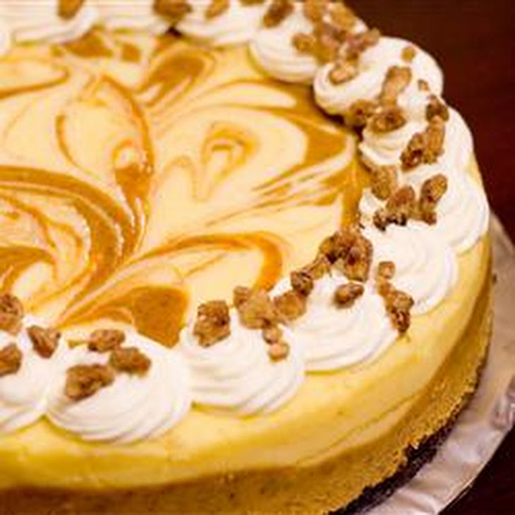 ... cheesecake meets velvety cheesecake in this scrumptious marble pumpkin