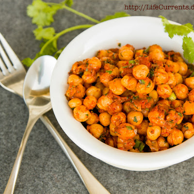 Nacho Roasted Chickpeas