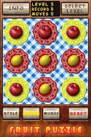 Screenshot of Fruit Puzzle