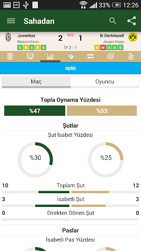 Sahadan Live Scores - screenshot