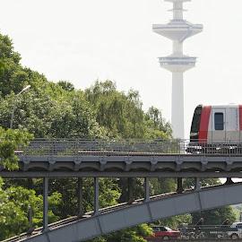 Hamburg by Matthäus Rojek - Transportation Trains ( hamburg )