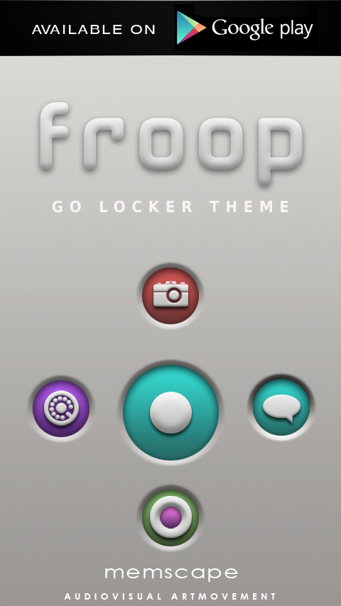 FROOP Next Launcher 3D Theme Screenshot 6