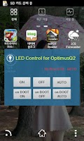 Screenshot of LED Control for OptimusQ2