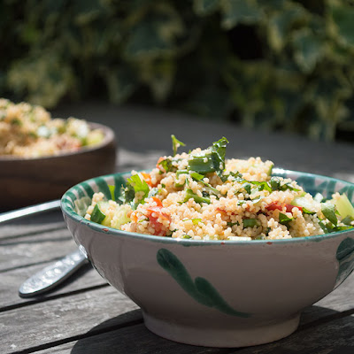 No Cook Couscous Salad
