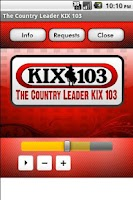 Screenshot of The Country Leader KIX 103