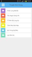 Screenshot of Truyen Kim Dung