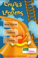 Screenshot of Chutes and Ladders