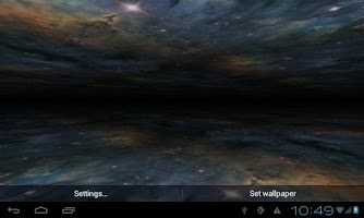Screenshot of Outside Black Hole LWP