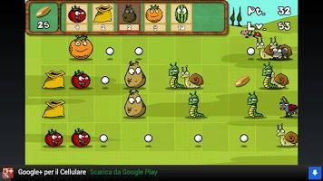 Screenshot of Plants Vs Bugs