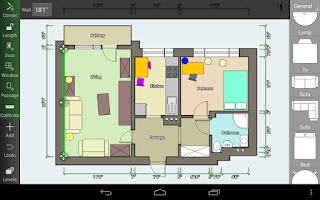 Screenshot of Floor Plan Creator