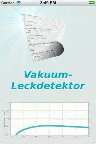 Vakuum-Leckdetektor