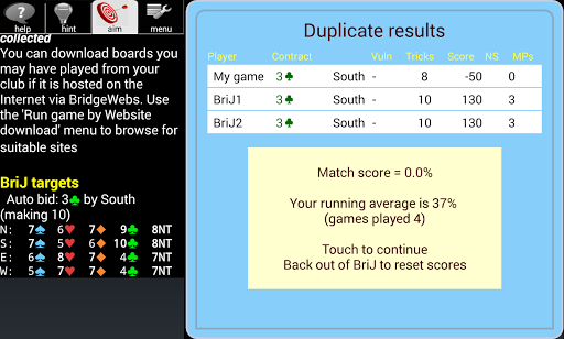 BJ Bridge (BriJ) Pro - screenshot