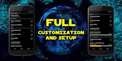 Screenshot of Bubble Shooter Space Free