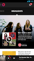 Screenshot of Beats Music