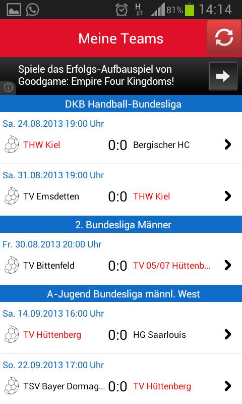 sis handballl