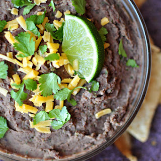 Zesty Black Bean Dip