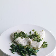 Fish with Lemon-Parsley Relish