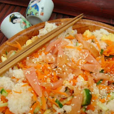 Sushi-Roll Rice Salad