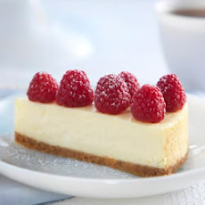 Citrus and Raspberry Cheesecake