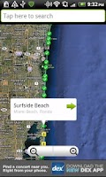 Screenshot of Florida Beaches