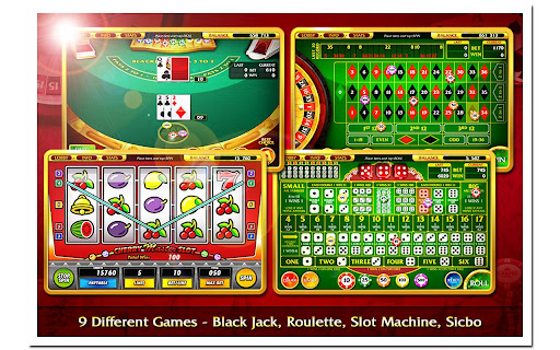 BlackJack Roulette Poker Slot