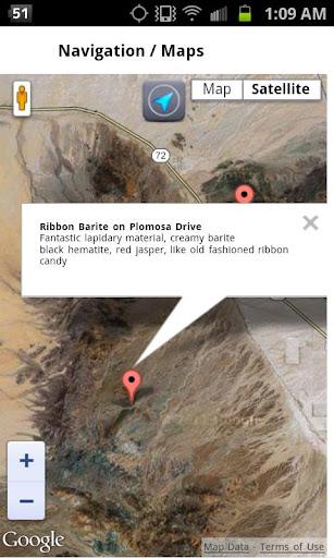 免費旅遊App|Mineral Collecting Quartzsite|阿達玩APP