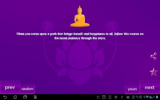 Screenshot of Buddha Quotes Plus