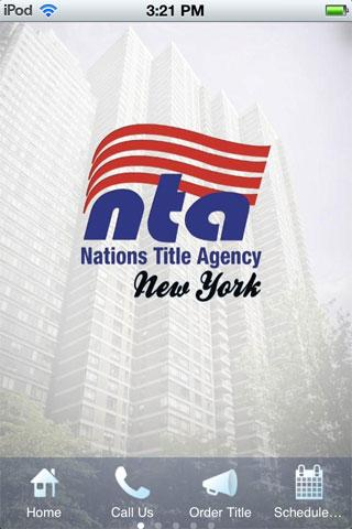 Nations Title of New York