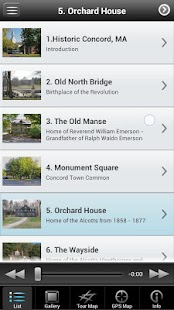 Historic Concord, MA Tour - screenshot