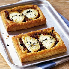 Onion & Goat's Cheese Tarts