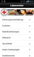 Screenshot of Erste Hilfe DRK