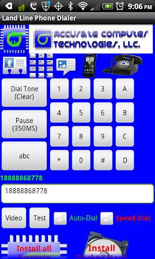 Land Line Phone Dialer