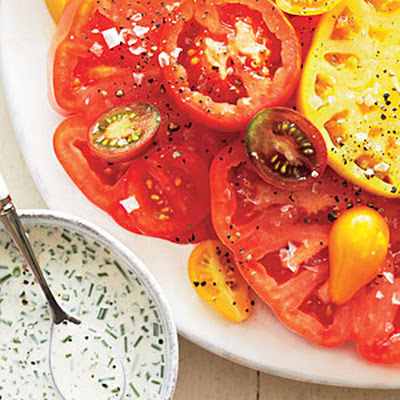 Heirloom Tomatoes with Buttermilk Dressing