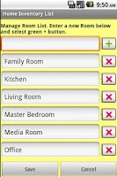 Screenshot of Home Inventory Organizer