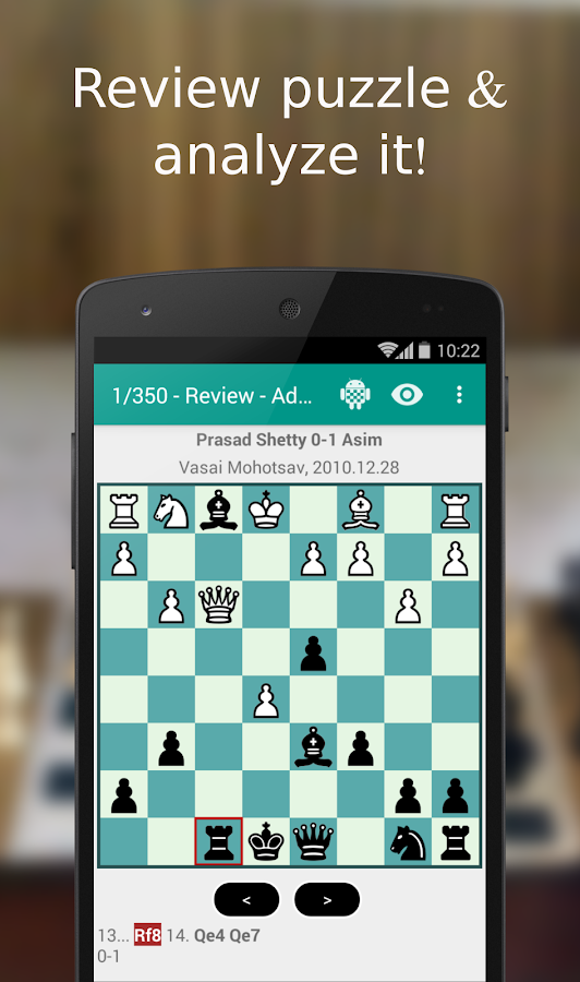 iChess - Chess Tactics/Puzzles Screenshot 4