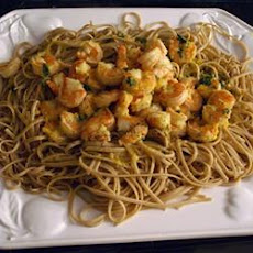 Tropical Shrimp Scampi