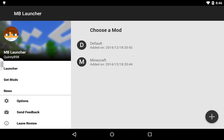 MBLauncher - Minebuilder Mods – Screenshot