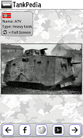 Screenshot of Tank Quiz