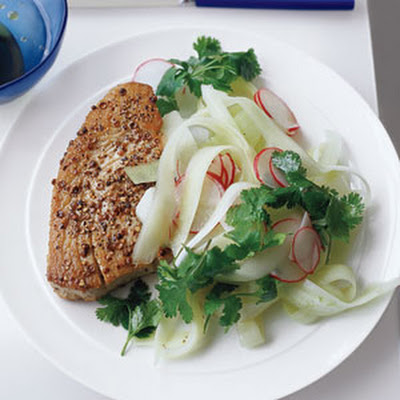 Tuna with Asian Slaw