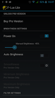 Screenshot of Brightness Control Lite